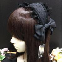 【Ruha Garden】ヘッドドレスカチューシャ/HD01-11/Black