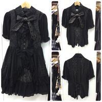 【h.NAOTO】 Gear blouse/SPF22-H005 BK/M