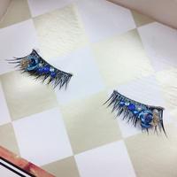 【まよなかのこいびと展】Masquerade/Eyelash extensions/Blue Butterfly〜short〜/EL201909081