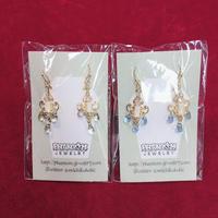 【Phantom Jewelry】フェミニンな壁掛け蝋燭ピアス