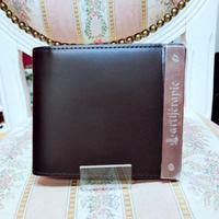 【artherapie】ATメタルプレート 二つ折り財布