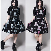 【SEXPOTReVeNGe】CANDY TOOTH SIDE LACE UP カット ワンピース【SB03165】