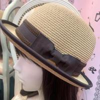 【まよなかのこいびと展】Masquerade/ブラウンリボンカンカン帽
