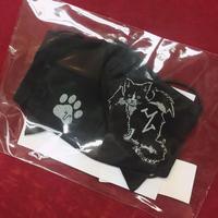 【h.NAOTO】 Rin-chan cat Mask Wear/CNF32-G065 BK/F