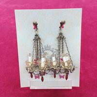 【Phantom Jewelry】シャンデリアのイヤリング