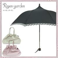 【Lumiebre】ローゼンガーデン/折りたたみ傘