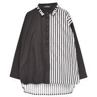 【HELL CAT PUNKS】切り替えシャツ【HCP-SH-0017】