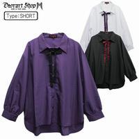 【Deorart】リボンネクタイ付 モダール リラックスシャツ(DRT-2522)
