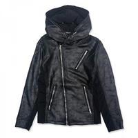 【JURY BLACK 】コーティング切替ZIPジャケット(12040421001)