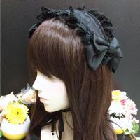 【Ruha Garden】ヘッドドレス/HD06-11/Black