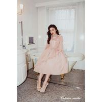 【Victorian maiden】BURLESQUE DOLL ローブドレス/ブラック・ピンク・ピーコック