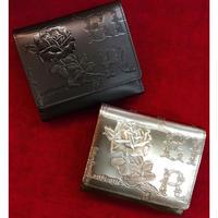 【artherapie】フィセルローズ二つ折り財布 アウトポケット
