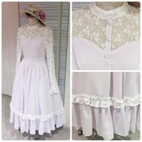 【Victorian maiden】フォレノワールロングドレス/ラベンダー