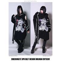 【SEXPOTReVeNGe】CHECKMATE BELT DESIGN ドルマン カットソー【SA68750】