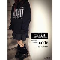 【xxkist】Parker - ─ code-