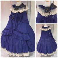 【Triple*fortune】リリウムドレス/ブルー【札幌限定】