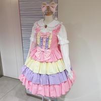 【MAXICIMAM】虹色お空のスウィート ジャンパースカート/8W1014-32
