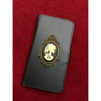 【Phantom Jewelry】手帳型iPhoneケース【iPhone X 対応】※お財布一体型タイプ