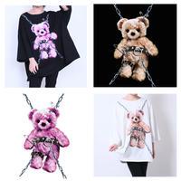 【Amilige】Tied Bear BIG Tシャツ(82002261001)