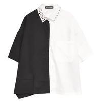 【HELL CAT PUNKS】 BIG切り替えシャツ(HCP-SH-0020)