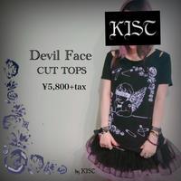 【xxkist】Devil Face CUT  TOPS