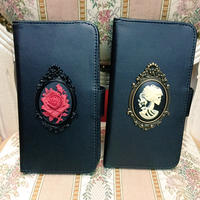【Phantom Jewelry】手帳型iPhoneケース【iPhone7/8対応】※お財布一体型タイプ