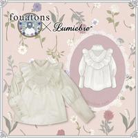 【Lumiebre】【fouatons(ふわっとん)コラボ】メイデン・ローズ /ブラウス
