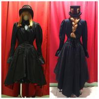 【GothicHolic】赤と黒のゴシックスカート/2023