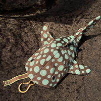 【KASEI】タタミベリザメ(レギュラーサイズ)【チョコミント水玉】