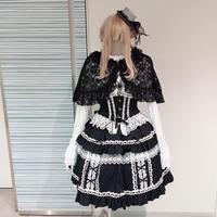 【MAXICIMAM】マジカルフルートマリオネットスカート/8W5005