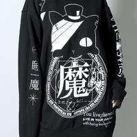 【SEXPOTReVeNGe】睡魔猫 BIG プルオーバー【SB26046】