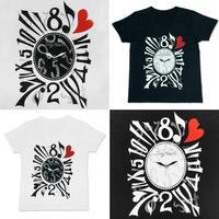 【JURY BLACK 】Crazy Watch Tシャツ(12002311001)