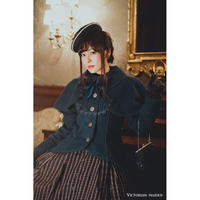 【Victorian maiden】ケープ付パトリシアショートコート