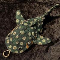 【KASEI】タタミベリザメ(レギュラーサイズ)【松皮菱菊(緑)】