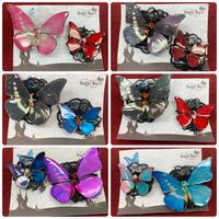 【ゴシックホリック】蝶々クリップB品セット/322