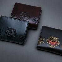【artherapie】ローズジャルダン二つ折りがま口財布