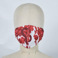 【h.NAOTO】Blood Rose Mask Wear / CNF30-G200 WH-RD/M
