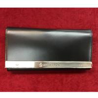 【artherapie】ATメタルプレートかぶせ長財布