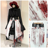 【h.NAOTO】 Blood Rose Dragon leather  Lace corset/CNF29-G041