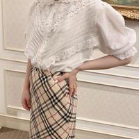 vintage blouse -FA453-