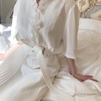 vintage lace blouse -FA379-