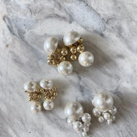 pearl gold pierce -313-