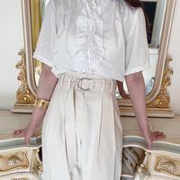 vintage blouse -FA420-