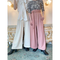 Acka original belt slacks -FA406-