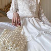 vintage lace tops -FA357-