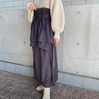 Acka original shirring design skirt -FA494-