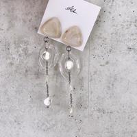 handmade  shell_earring  -618-