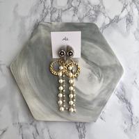 handmade  earring  -633-