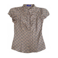 Burberry vintage blouse -B037-