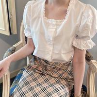 vintage blouse -FA465-